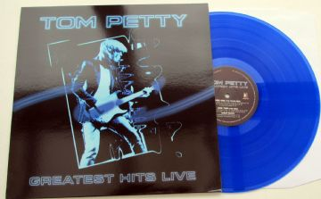 Tom Petty - Greatest Hits Live (Blue Vinyl) Limited Numbered